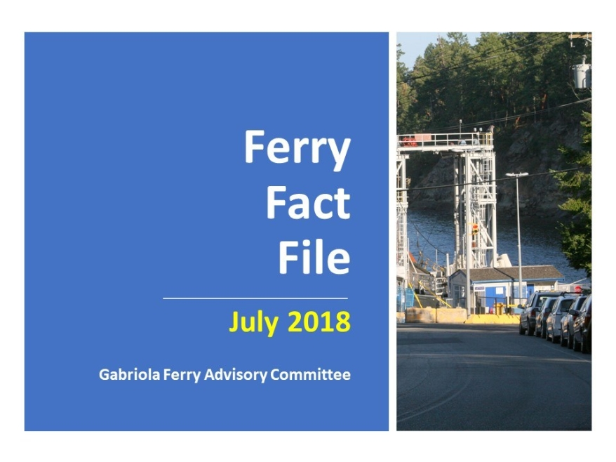 Ferry Fact File July 2018